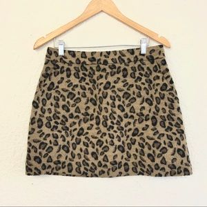 Dresses & Skirts - CHEETAH PRINT MINI SKIRT